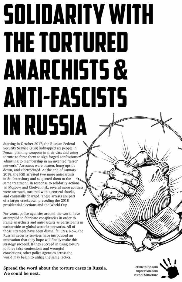 Why the Torture Cases of Anarchists in Russia Matter